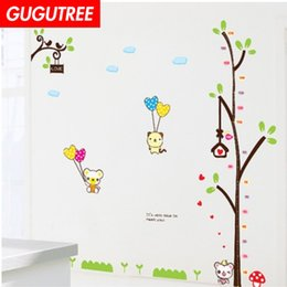 $enCountryForm.capitalKeyWord Australia - Decorate Home bear trees cartoon art wall sticker decoration Decals mural painting Removable Decor Wallpaper G-2018