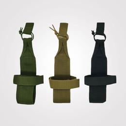 Discount water bottle belt holder - Tactical Hiking Camping Sport Molle Water Bottle Holder Belt Pouch Nylon Bag
