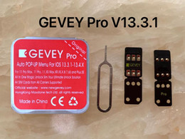 Wholesale 2020 Green gevey pro v13.3.1 CYBER MODE for ios 13.4 13.3.1 unlock perfect for iphone 11 pro 7 7+
