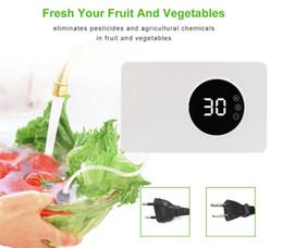 Großhandel Ozonreiniger 400mg / h Home Ozongenerator Ionisator für Obst- und Gemüse-Lebensmittelsterilisator