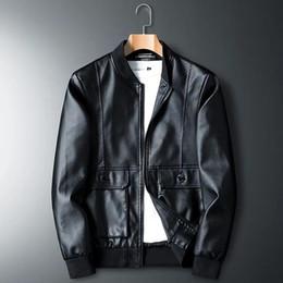 Luxury Motorcycle Jackets Australia - 2019 New Fashion Luxury Mens Jackets Clothing Locomotive Men Clothing Coat Men'S Leather Jacket Motorcycle Overcoat For Male Chaqueta