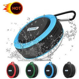 $enCountryForm.capitalKeyWord Australia - C6 waterproof bluetooth speaker outdoor sports suction cup mini small speaker phone car, the low-pitched sound factory direct sales