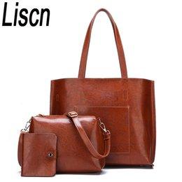 $enCountryForm.capitalKeyWord Canada - 3PCS   women's bag luxury high quality pu messenger bag briefcase handbag fashion leather ladies shoulder handbag