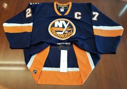 9e5c5af7bb7 Wholesale Custom Michael Peca Vintage New York Islanders Koho Cheap Center  Ice Hockey Jersey Mens Retro Jerseys
