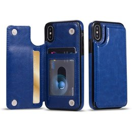 $enCountryForm.capitalKeyWord Australia - Multifunction Wallet Case Luxury PU Leather Cell Phone Back Case Cover With Credit Card Slots For iPhone Xs Max Xr S10 Lite 9 8Plus