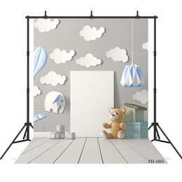 kids portraits NZ - board wall wooden floor Vinyl photography background for Portrait children kids baby new born backdrop photocall