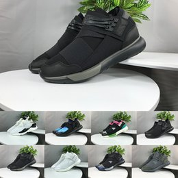 349c8a095714f New Casual Shoes Y-3 QASA RACER Hight SnEakers Kaiwa Sneakers Breathable Men  Women Casual Shoes Couples Y3 Shoes Size Eur 36-45