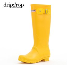 rain boots NZ - 6 Color Rain Boots Boys Children Shoes Rainboots Loverly Waterproof Water Shoes Children's Rubber Boots Outside