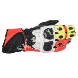 Ride Gps Australia - MotoGP Plus Genuine Leather Gloves Apl GP Plus R Motorcycle Racer Protective Gloves Street Motorbike Knight Sport Riding
