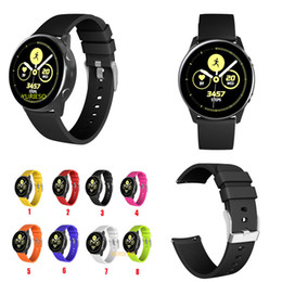$enCountryForm.capitalKeyWord Australia - Soft Silicone Band Replacement Band Wrist Strap Sport Bracelet For Samsung Galaxy Watch Active 20mm for galaxy watch 42mm