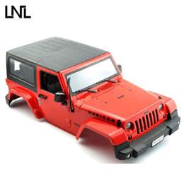$enCountryForm.capitalKeyWord Australia - LNL1 10 RC Truck Hard Body Shell Canopy Jeep Wrangler Rubicon Topless For SCX10 D90