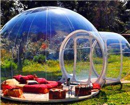 Kostenloser Versand Freies Blower Aufblasbare Blase Zelt zum Verkauf 3M Dia Blase Hotel For Menschen Hot Transparent Iglu-Zelt Förderung! im Angebot