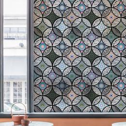 $enCountryForm.capitalKeyWord Australia - Static Sticker Privacy Home Decor Decorative Stained Glass Window Film 45 60 90x200cm 17.7 23.6 35.4x78.7in Q190601