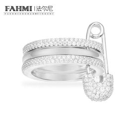 $enCountryForm.capitalKeyWord Australia - FAHMI 100%92 Sterling Silver COLLECTION BABY XL Silver Ring A17064OX Women's Jewelry Free Shipping Wholesale