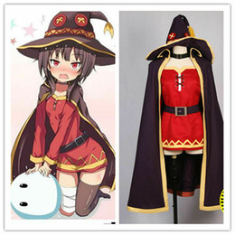 world tv NZ - Anime KonoSuba God s Blessing On This Wonderful World Megumin Full Set Cosplay Costume