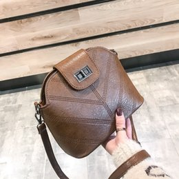 $enCountryForm.capitalKeyWord NZ - 2019 new women's bag Korean fashion all-in-one shoulder cross-body embroidered line shell small bag for women