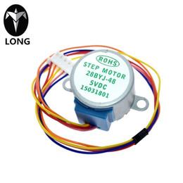 longteng ULN2003 5V 4-phase 5-wire stepper motor gear motor 28BYJ-48-5V,Micro Mini Electric Step Motor for PIC 51 AVR