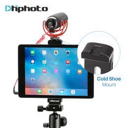 Dağı Ulanzi Tüm-Metal Alüminyum Dağı için / iPad Pro / iPad Mini Hava, Tablet Tripod Hoder Sıcak Ayakkabı ile w Standı / Tutuşunu Plaka