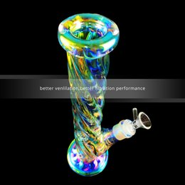 $enCountryForm.capitalKeyWord Australia - Fashionable Popular 12.5 Inch Rainbow New Style Glass Bongs Water Pipes with 1 Piece Downstem and 1 Piece Glass Bowl