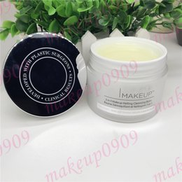 Drop shipping Makeup Remover bye makeup 3-in-1 makeup melting cleansing balm 80g with skin- softening serum concentrate 1 pcs ePacket ship