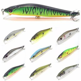 $enCountryForm.capitalKeyWord Australia - New Model 10cm 9.8g 2trebles Hooks 3d Hard Eyes Variant Colors Minnow Hard Bait Weight Transfer Design Fishing Lure M590