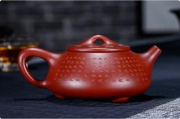 $enCountryForm.capitalKeyWord NZ - new Chinese yixing zisha teapot handmade Da hongpao ni Purple sand Clay Stone scoop teapot 220cc