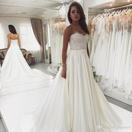 Weddings & Events Cheap Price Modabelle White Ivory Pearls Wedding Dress A Line Trouw Jurken V-neck Tulle Lace Wedding Gowns Vestido De Noiva 2019