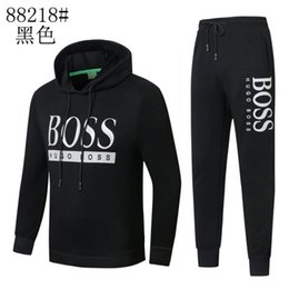 Suit Design Cutting Australia - HOT Spring autumn original Hugo Boss men's long-sleeved sport JACKET suit Coats Genuine Armani man Hooded Jacket Sports coat suit