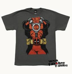 $enCountryForm.capitalKeyWord Australia - Marvel Comics Deadpool Body Costume Suit Up Licensed Adult T Shirt Men Women Unisex Fashion tshirt Free Shipping black
