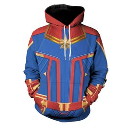 Cool Sweatshirt Jackets Australia - Hipster Cosplay Marvel Captain 3D Print Hoodies Men women Punk Streetwear Pullovers Hooded Sweatshirts Boys Cool Loose Jackets