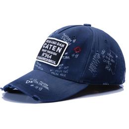 2019 D2 ICON Hip Hop Baseball Snapback unisex progettista di Marca 100% cotone Cappello per uomo Donna Casquette cappelli Lettera Ricamo spedizione gratuita in Offerta