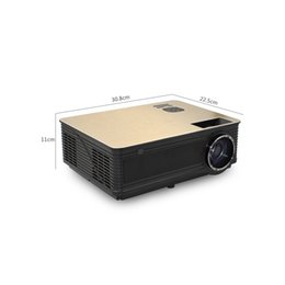 Business Tvs Wholesale Australia - 4K Digital WiFi Bluetooth Projector HD Projector TD86 4000 Lumen Android 6.0 (Optional) for Full HD 1080P LED TV Video Projector wholesale