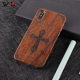 $enCountryForm.capitalKeyWord NZ - Rosewood+PC Back PC Frame Wooden Mobile Phone Case For iPhone 6 7 8Plus X XS Max
