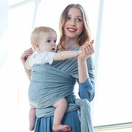 $enCountryForm.capitalKeyWord Australia - Comfortable Fashion Baby Strap Soft Natural Wrap Baby sling Backpack 0-3 Breathable Cotton Hipseat Care Set
