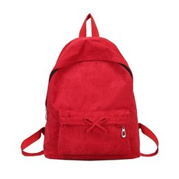 ladies classical bags 2019 - Classical Women Casual Backpack Canvas Zipper Simple Fashion Girl School Shoulder Bag Solid Color Lady Travel Backpacks
