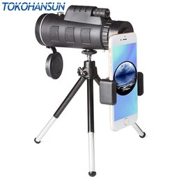 $enCountryForm.capitalKeyWord Australia - Tokohansun 40x60 Hd Zoom Lens Monocular Telescope + Tripod + Clip For Samsung For Iphone Xiaomi Huawei Camping Travel Phone Lens J190704