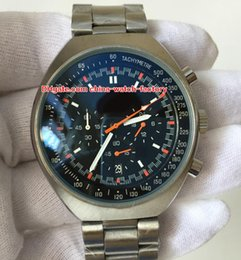 Chronograph 42mm online shopping - Luxury High Quality Watch mm x mm Mark II Stainless Steel VK Quartz Movement Chronograph Working Mens Watch Watches