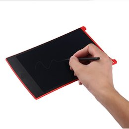 "tablet stylus for drawing Australia - Red 8.5"" LCD Tablet Writting Drawing Pad Memo Message Board Notepad Stylus for eWriter"