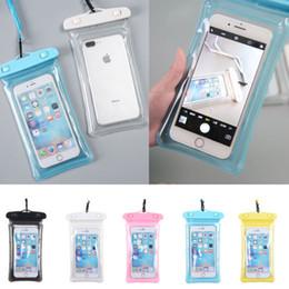 Водонепроницаемый сенсорный экран подводный чехол сухой чехол чехол для универсального мобильного телефона iPhone 5 5S SE 6 6s Plus сотовый телефон