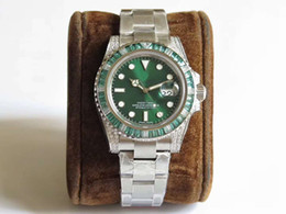 $enCountryForm.capitalKeyWord Canada - TOP N factory latest upgrade V9 version. Men's luxury watch. 904 stainless steel to create 40mmm green gemstone inlaid ring. 3135 moveme