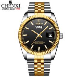 $enCountryForm.capitalKeyWord Australia - CHENXI Men Watch 2019 New Top Luxury Brand Mens Quartz Watches Men's Business Calendar Display Male Clock Fashion Man Wrist Watch