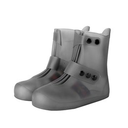 Toe waTer shoes for women online shopping - Atitifope Unisex Waterproof Shoes women rain shoes cover reusable anti slip water boots rain cover for shoes