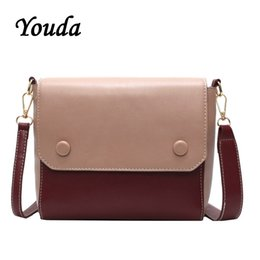 $enCountryForm.capitalKeyWord NZ - Youda Korean Style Ladies Shoulder Bag Fashion Color Matching Ladies Flip Messenger Bags Shopping Mobile Phone Storage Pouch