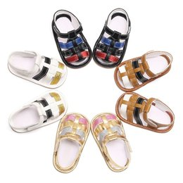 Sandals For Infant Boys Australia - Baby Boys Girls PU Sandal Shoes Toddler Infant Casual Summer Shoes For Boy Girl Rubber Sole Shoesest