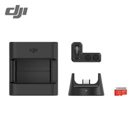Camera 12 Mp Australia - DJI OSMO Pocket Expansion Kit For DJI Osmo Pocket Mini Camera 3-Axis Handheld Gimbal Stabilizer 4K 60fbs Video 12 MP 140min time