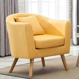 $enCountryForm.capitalKeyWord Australia - European contracted and modern high-grade leisure furniture solid wood sofa single person cloth chair