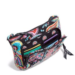 $enCountryForm.capitalKeyWord NZ - VB Pastoral Style Floral Print Shoulder Bag Boho Fashion Fanny Pack Vintage Crossbody Bag Ethnic Style Colorful Bags Storage Purses C72902
