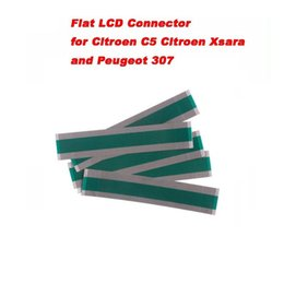 Connector Peugeot Australia - Fcarobd 5pcs Hot Selling Flat LCD Connector for Citroen C5 Xsara and Peugeot 307 Pixel Tool Citroen C5 RIBBON CABLE