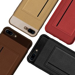 $enCountryForm.capitalKeyWord Australia - NEW For iPhone 8 Xs Max case leather set 7 Plus 6 cell phone shell Apple protective sleeve XR card iphone X case