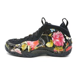 59a8b9dd83b Hot Sell 2019 Foam One Abalone Habanero Red Floral Penny Hardaway Mens  Basketball Shoes Cheap Black Gold Alternate Galaxy Fleece Sneakers